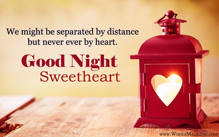 Romantic Good Night Wishes For Gf BF