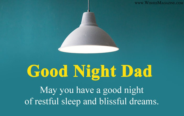 Best Good Night Wishes For Father