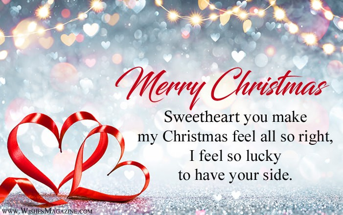 Romantic Christmas Wishes Messages For Girlfriend Boyfriend