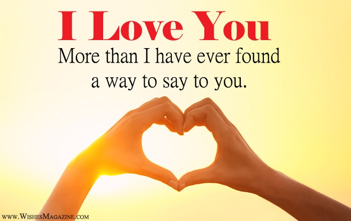 I Love You Messages For Girlfriend Boyfriend