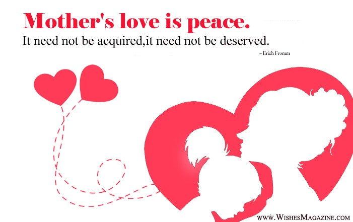 Beautiful Mothers Love Quotes