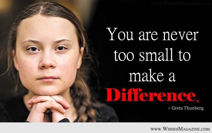Greta Thunberg Inspirational Quotes