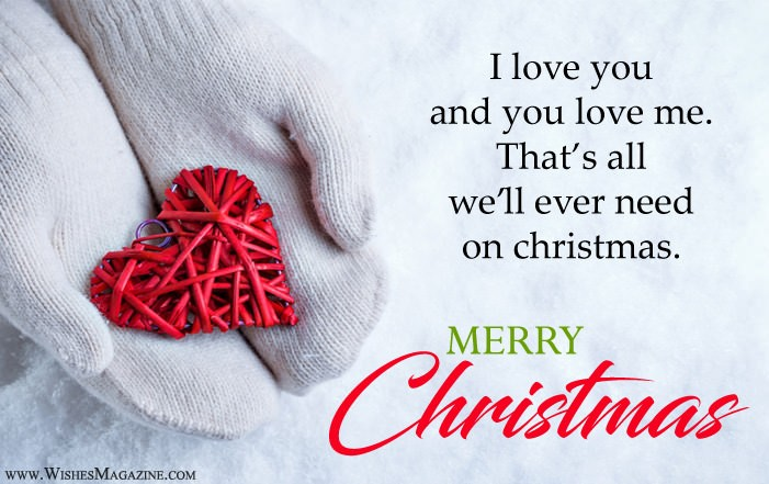 Romantic Christmas Love Quotes