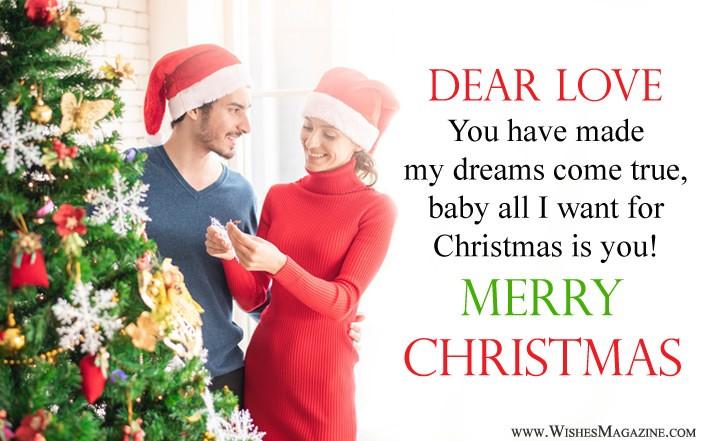 Romantic Christmas Quotes For Girlfriend Boyfriend