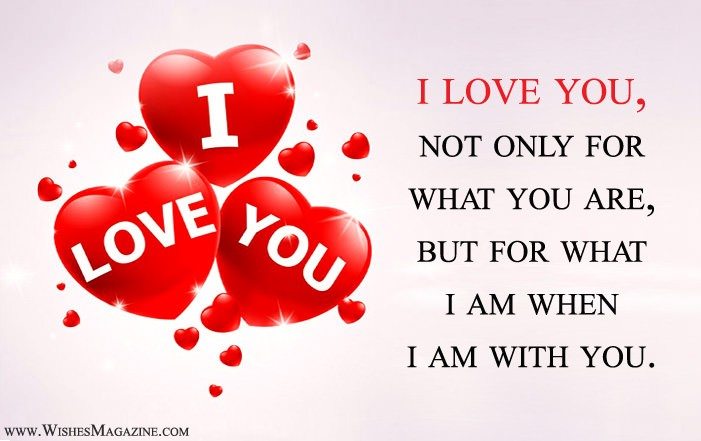 I Love You Quotes Sayings Messages