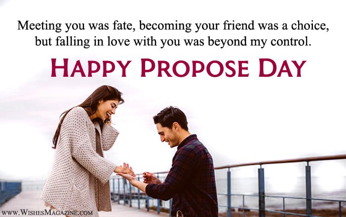 Happy Propose Day Quote Sayings