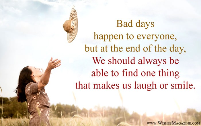 Latest Positive Quotes For Bad Days