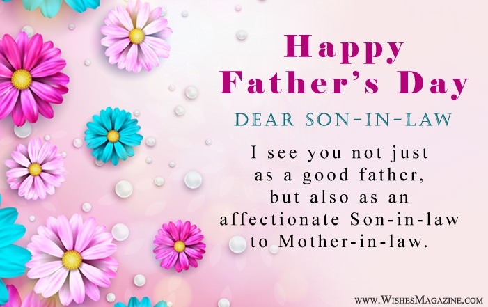 Fathers Day Wishes For Son-In-Law
