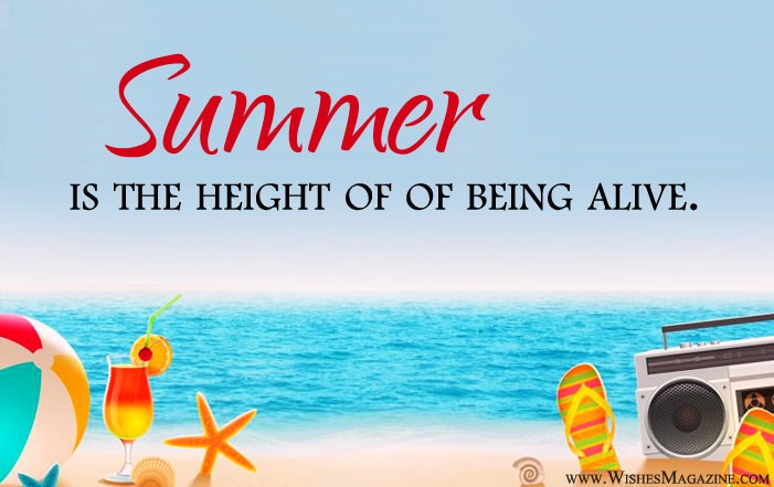 Top New Summer Quotes Sayings