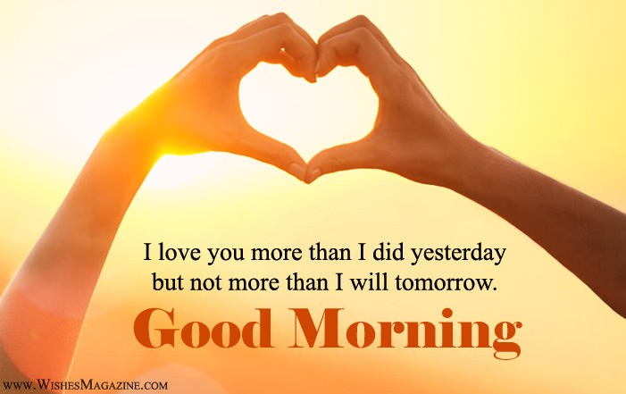 Good Morning I Love You Quotes And Messages