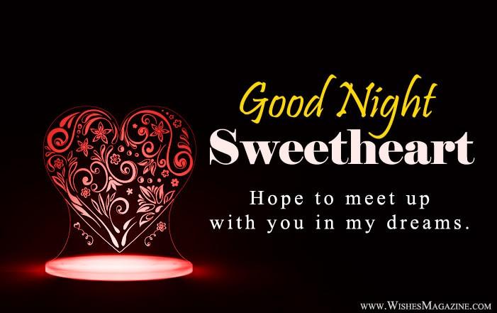 Romantic Good Night Quotes For Girlfriend Boyfriend