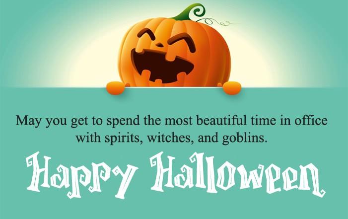 Corporate Halloween Wishes