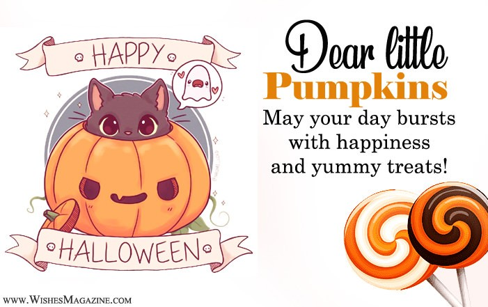 Halloween Wishes Messages For Grandson And Granddaughter